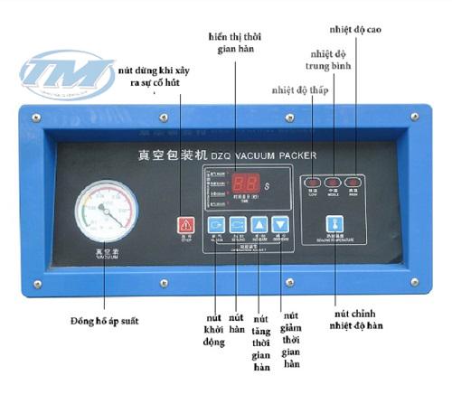 TMĐG-C14 Máy hút chân không DZQ 400-2S