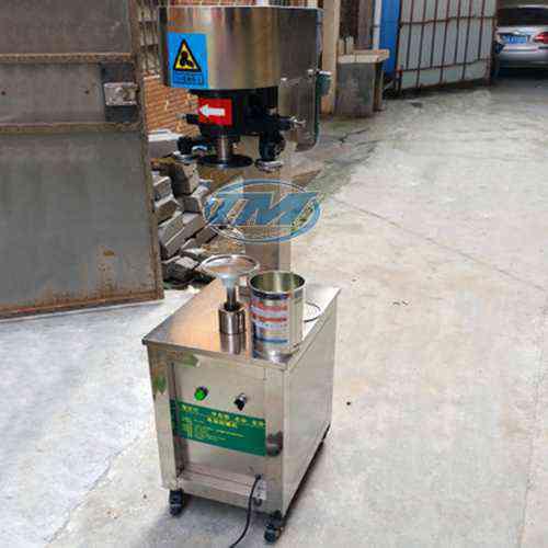 Máy viền mí lon bán tự động GT-4A3 (TMDC-DD03)