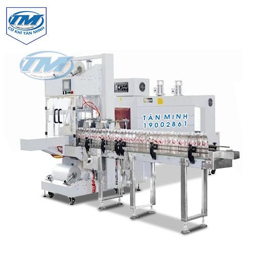 Máy co màng log chai tự động không khay (TMĐG-B08)
