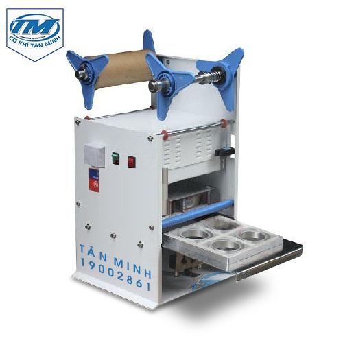 Máy ép cốc thạch bán tự động (TMĐG-EA08)