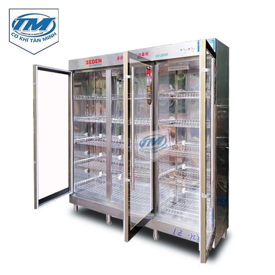 Tủ sấy bát, đũa, công nghiệp 3 cánh (TMCN-B03)
