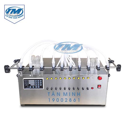 Máy chiết rót dạng lỏng 10 vòi bán tự động (TMDC-D19)