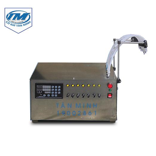 Máy chiết rót dạng lỏng 7 vòi bán tự động (TMDC-D20)