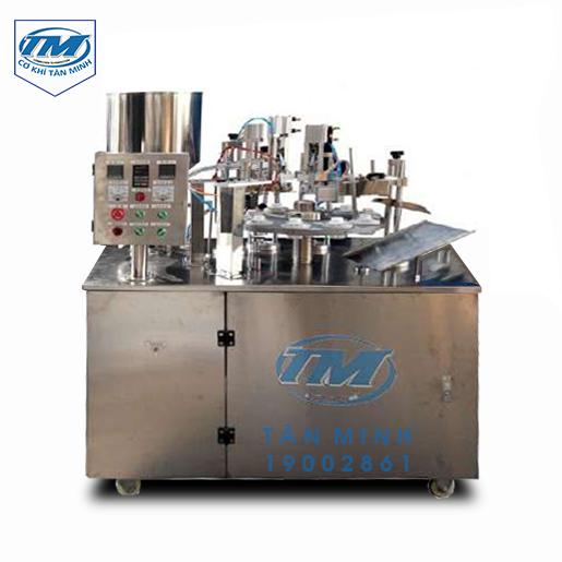 Máy chiết rót tuýp kem tự động 3-200ml (TMDC-D33)
