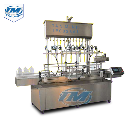 Dây chuyền chiết rót tự động 12 vòi (TMDC-D34)