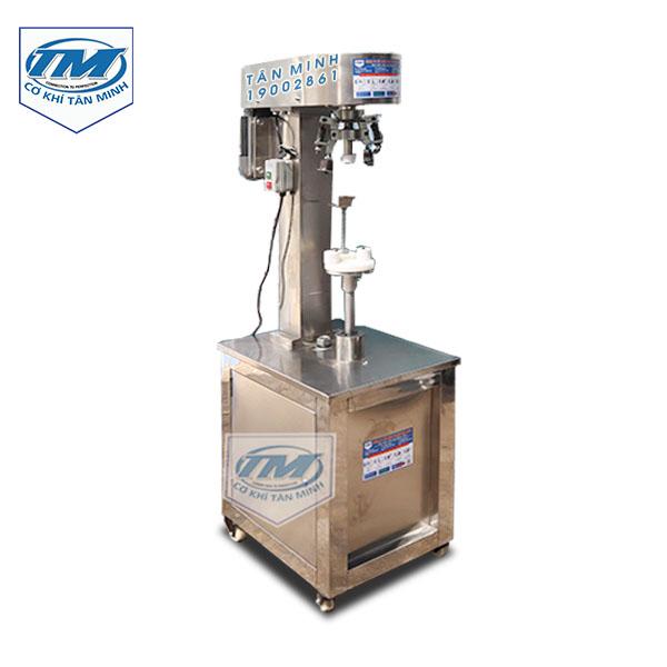 Máy bo viền nắp chai, hũ yến (TMDC-DD06)