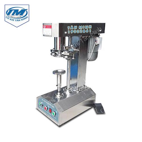 Máy viền mí lon bán tự động inox  (TMDC-DD08)