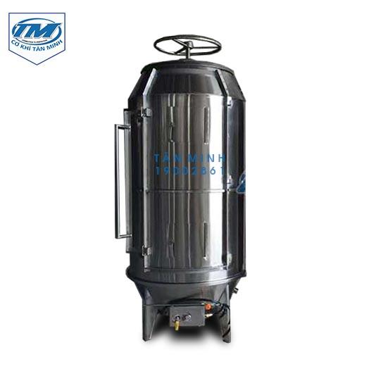 Lò quay heo nguyên con dùng gas (ĐK 1m) (TMTP-I11)