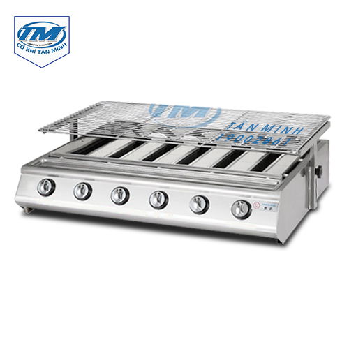 Bếp nướng gas gia đình 6 điều chỉnh inox (TMTP-IB05)