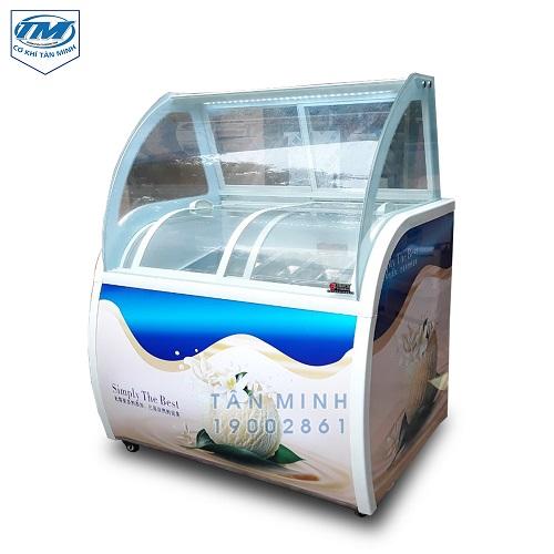 Tủ trữ kem ký 10 khay (TMTP-PC07)