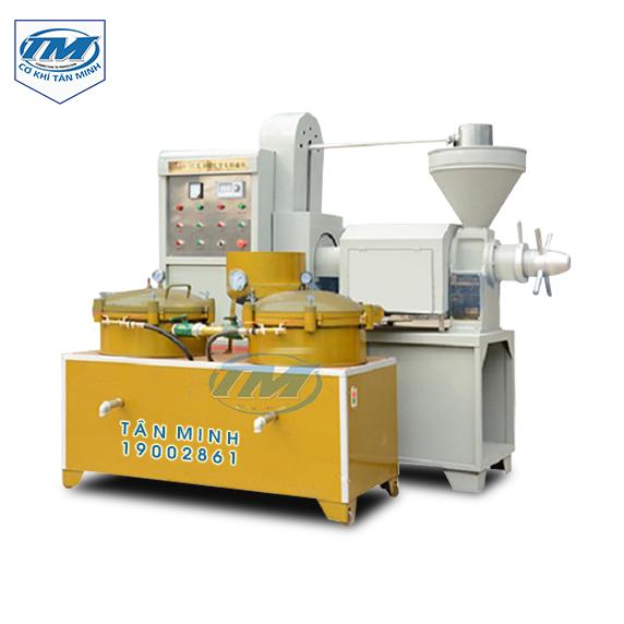 Máy ép dầu trục vít XZ-100A (TMTP-R20)