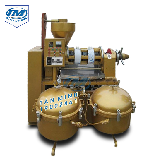 Máy ép dầu trục vít HY 120-8 (TMTP-R21)