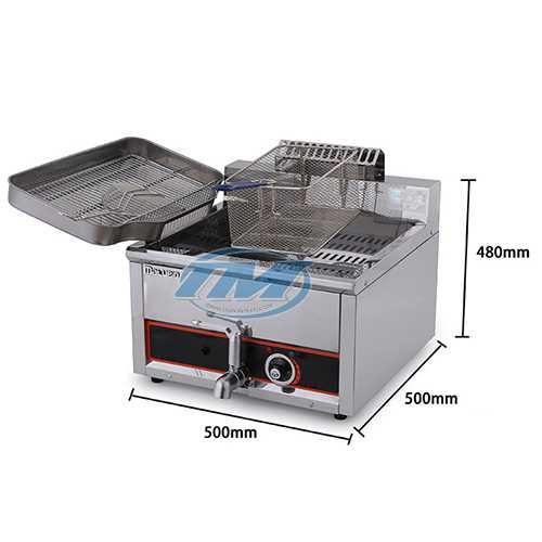 Bếp chiên 15 lít 380V (TMTP-NB20)
