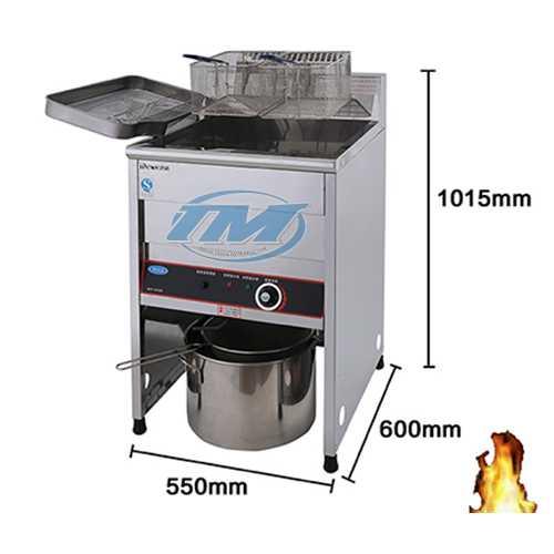 Bếp chiên 23 lít 380V (TMTP-NB24)