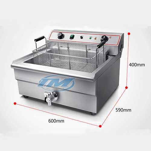 Bếp chiên đơn 30 lít có vòi (TMTP-NB13)