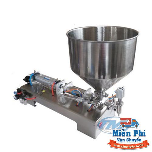 Máy chiết rót 1 vòi khí nén dạng đặc 100-1000 ml (TMDC-D08)