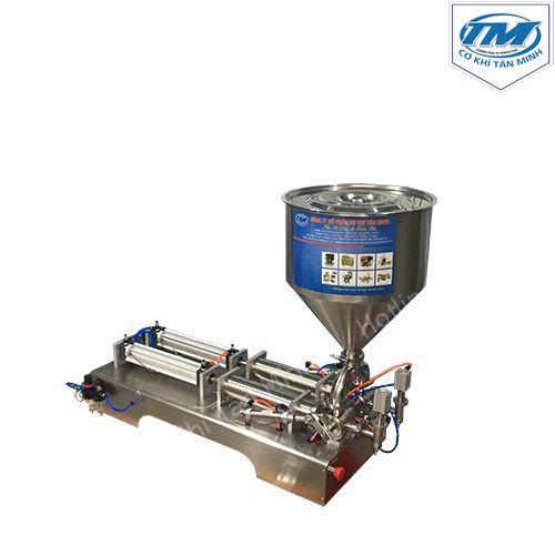 Máy chiết rót dầu ăn, dung dịch lỏng 2 vòi (TMDC-D12)
