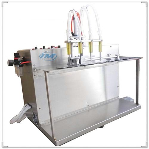 Máy chiết rót dung dịch lỏng 4 vòi bán tự động (TMDC-D17)