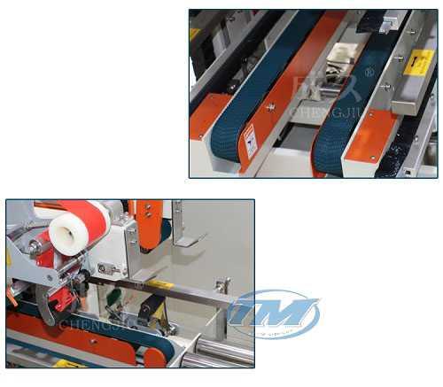 Máy dán băng dính cạnh thùng carton FXS-5050