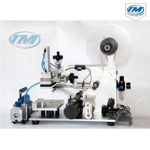 Máy dán decan chai vuông, hộp bán tự động MT-60 (TMĐG-H01)