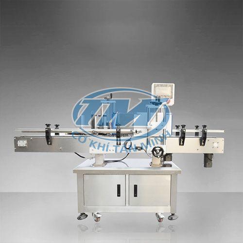 Máy dán decan nắp chai tròn tự động MT 200 (TMĐG-H08)