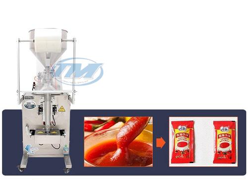 TMĐG-I06 Máy đóng gói nước sốt bán tự động