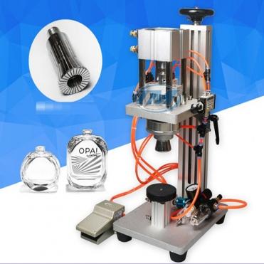 Máy đóng nắp chai nước hoa bán tự động (TMDC-DB03)