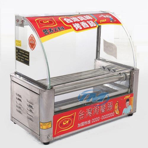 Máy nướng xúc xích 5 thanh HX-5 kính cong (TMTP-GB01)