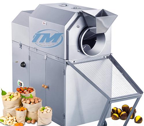 Máy rang hạt XL-100R dùng gas 50-65 kg/mẻ (TMTP-N05)