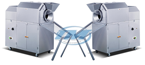 Máy rang hạt XL-50R dùng gas 25-30 kg/mẻ (TMTP-N03)
