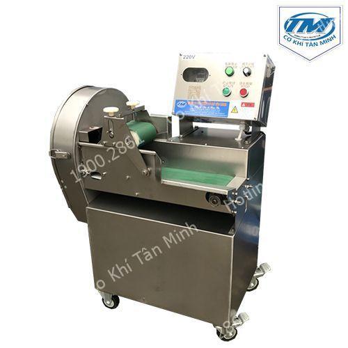 Máy thái rau củ quả băng tải tự động khổ 10cm (TMTP-O09)