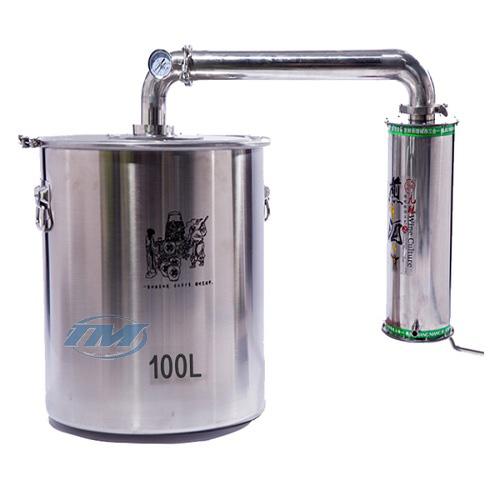 Nồi chưng cất tinh dầu nhiên liệu ngoài (TMTP-RB04)