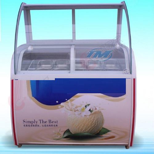 Tủ mát trữ kem ký 10 khay (TMTP-PC07)
