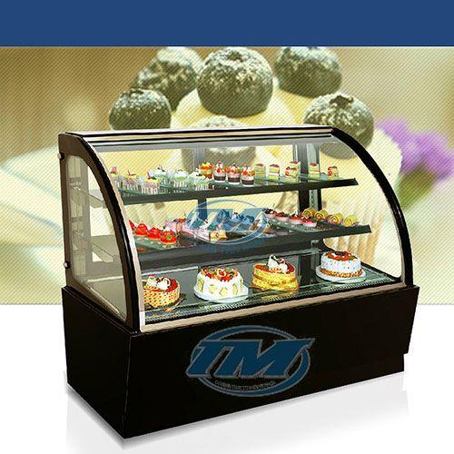 Tủ trưng bày bánh kem kính cong 3 tầng 90cm (TMTQ-A02)