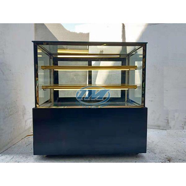 Tủ trưng bày bánh kem kính phẳng 3 tầng 1.2 m (TMTQ-A04)