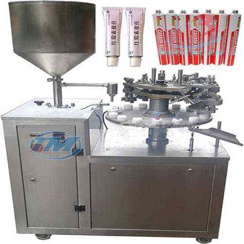 Máy chiết rót niêm phong tuýp kem bán tự động (TMDC-D24)