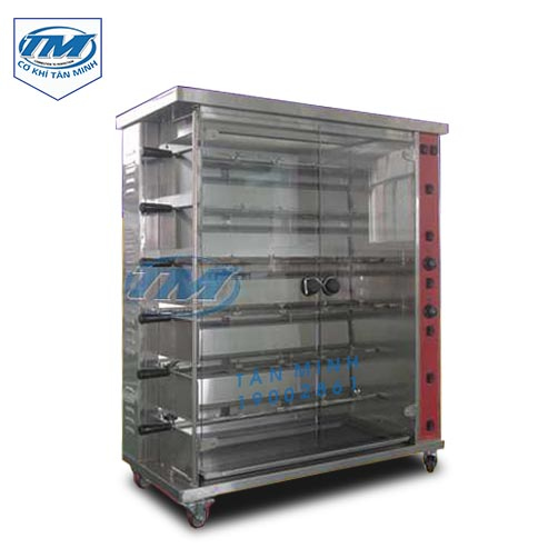 Lò nướng gà vịt dùng điện quay ngang HEJ-6P (TMTP-I23)