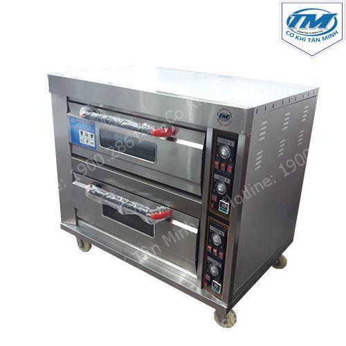 Lò nướng 2 tầng 4 khay độc lập dùng điện (TMTP-I19)