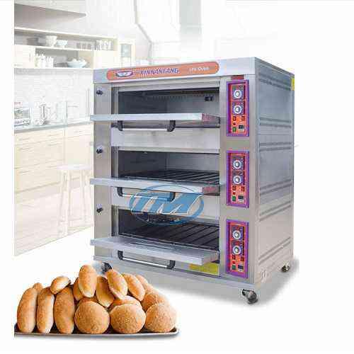 Lò nướng bánh 3 tầng dùng gas (TMTP-I31)