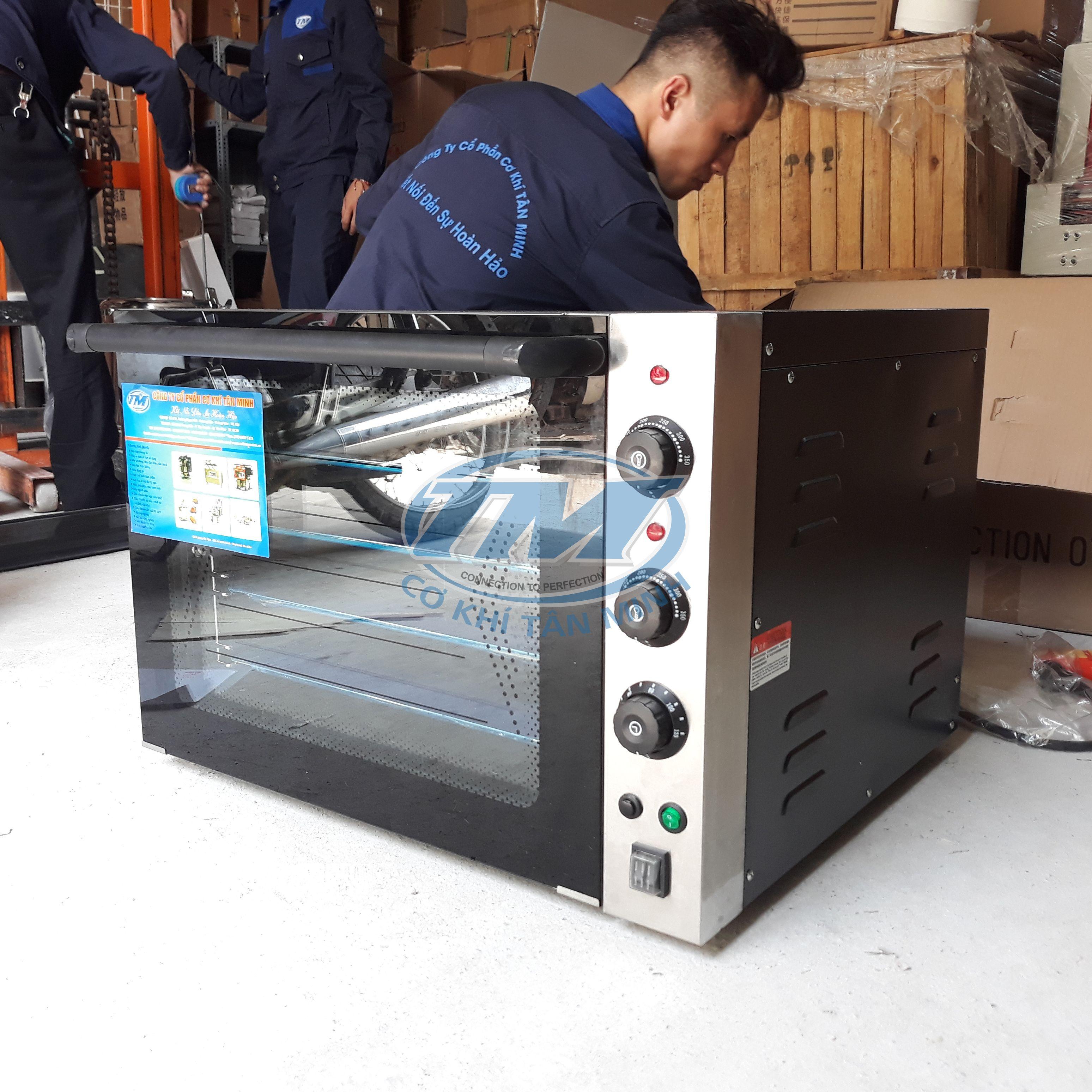Lò nướng bánh dùng điện 1 tầng 4 khay (TMTP-I15)