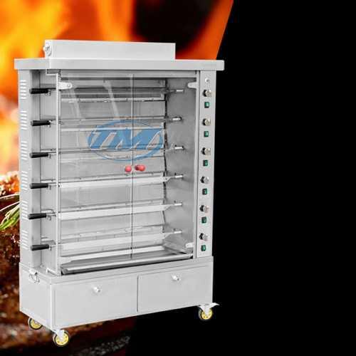 Lò nướng vịt dùng gas 6 xiên (TMTP-I30)