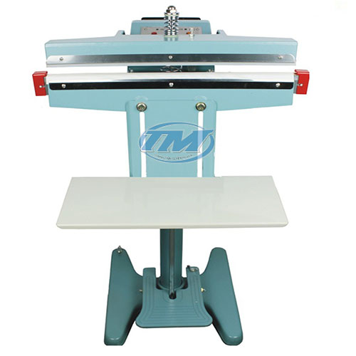 Máy hàn miệng túi dập chân PFS-650 có giá đỡ (TMĐG-A31)