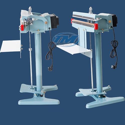 Máy hàn miệng túi dập chân PFS-800 có giá đỡ (TMĐG-A32)
