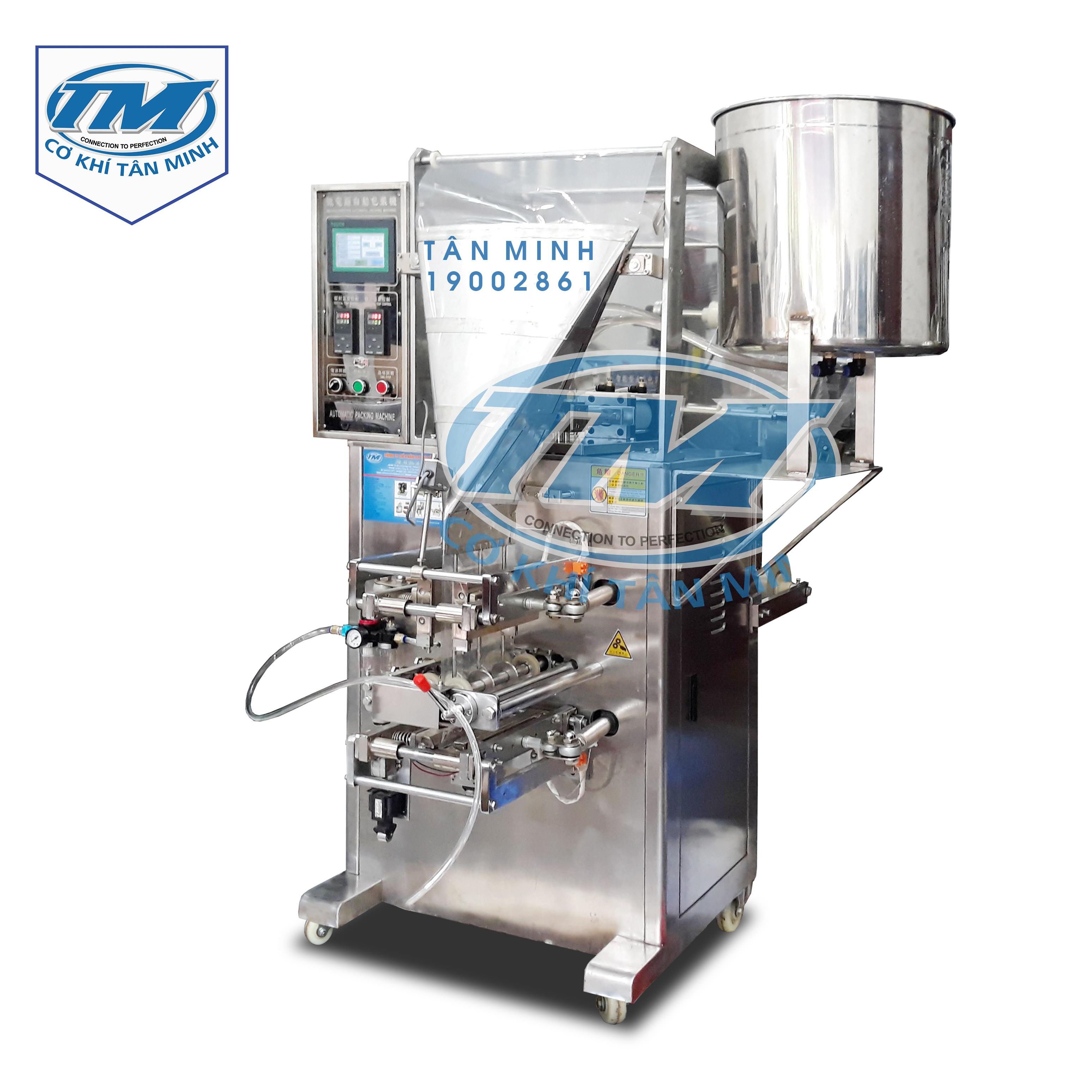 Máy đóng gói dung dịch nước sốt, dầu gội 3 làn (TMĐG-I40)