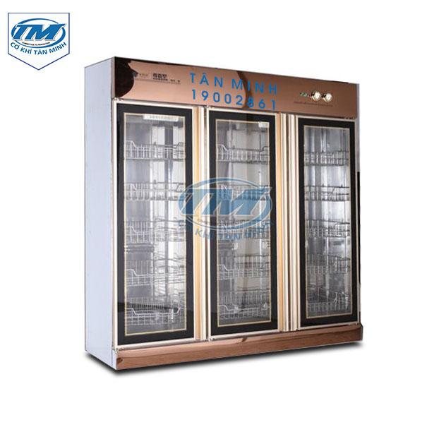 Tủ sấy khử trùng bát đĩa công nghiệp 1600L (TMCN-B48)