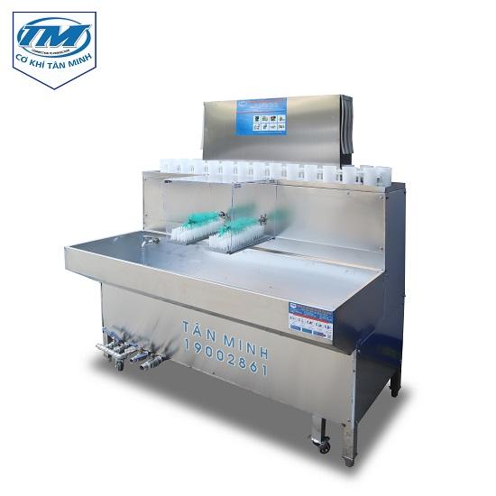 Máy rửa chai XDA-30 (có 2 đầu chổi rửa) (TMDC-DC07)