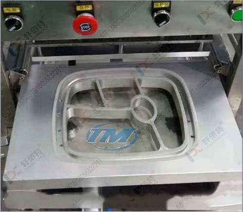 Máy dán miệng hộp tự động & thổi khí có indate KIS680-1