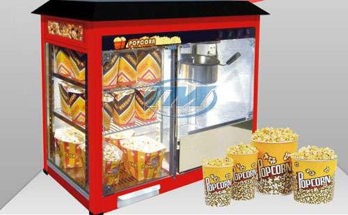 Máy làm bắp rang bơ 3 tầng (có tủ kính) (TMTP-NA09)