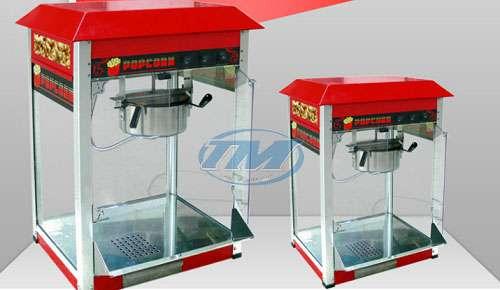 Máy làm bắp rang bơ Bo Zone (có tủ kính) (TMTP-NA10)