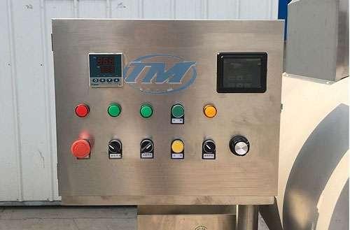 Máy rang hạt CM-GT-500 dùng điện (Inox) 28 kg/mẻ (TMTP-N20)
